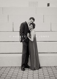 classic black and white formal couple poses  Emily and Kyle's Engagement  Family Photos Cleveland, Ohio © audrey tyler jones
