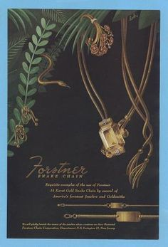 Vintage jewelry ads - Found in Mom's Basement