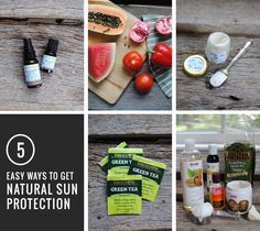 Homemade Natural Sunscreen Recipes | HenryHappened.com