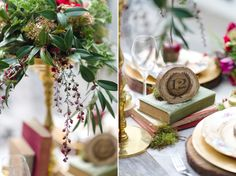 An Urban Secret Garden � Stunning Autumn Wedding Inspiration