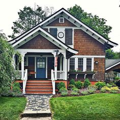 cute shingle style cottage home