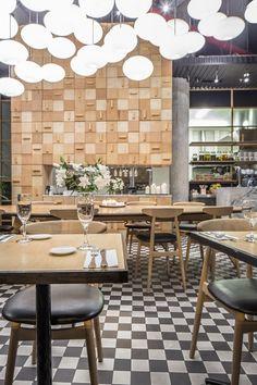 Black On The Deck At Eden Dining Room Bar Adelaide By Genesin Studio