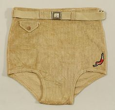 Jantzen (American, founded 1910). Beachwear (Trunks), 1930–49. The Metropolitan…