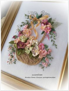 Ribbon Embroidery Books In Sri Lanka nor Embroidery Ring Near Me, Embroidery Designs In Kurti although Embroidery Floss Easter Eggs With Glue Ribbon Embroidery Tutorial, Hand Embroidery Flowers, Silk Ribbon Embroidery, Embroidery Hoop Art, Hand Embroidery Patterns, Embroidery Stitches, Embroidery Techniques, Embroidery Supplies, Embroidery Books