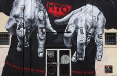New Mural by Berlin-based MTO in Rennes / France