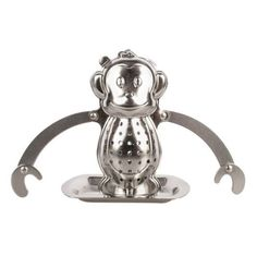 Monkey Tea Infuser & Drip Tray