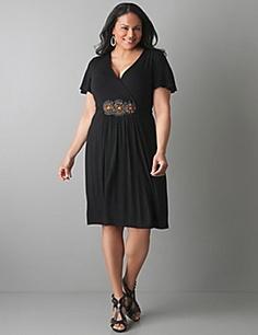 beaded dress, lane bryant $59.95