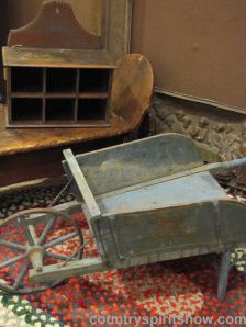 Wonderful toy wheelbarrow