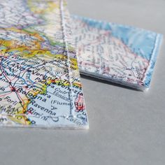 3 custom location luggage tags made with original by Marmalime, $33.00