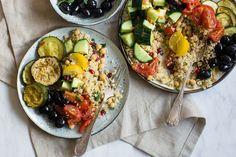 Midden-oosterse bulgur salade