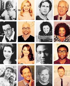 Baby faces.