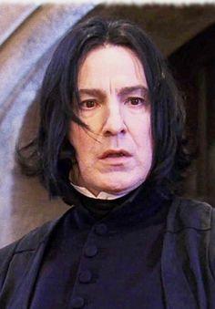 Professor Severus Snape, Harry Potter Severus Snape, Alan Rickman Severus Snape, Severus Rogue, Hp Harry Potter, Harry Potter Movie Trivia, Harry Potter Characters, Snape Always, Hogwarts