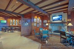 golf country club interiors | Congressional Country Club Interior Image of Restaurant Louge R075610 ...