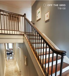 Behr Color Trends 2018 Color Sample T18-08 Off The Grid