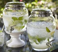 love the dispensers Cocktail Party Ideas & Cocktail Party Themes | Pottery Barn