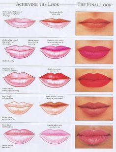 Quieres lucir un maquillaje de labios perfecto que resalte o mejore tu forma natural? Te traemos trucos para labios finos, carnosos o imperfectos.