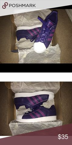 Superstar Adidas Original - Brand new, never worn, comes with OG box, price is negotiable. Adidas Shoes Sneakers