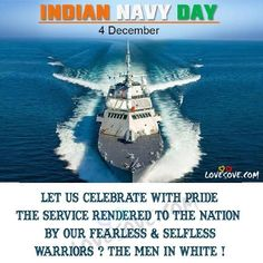Indian Navy Day, Day Wishes, Important Dates, Inspirational Thoughts, Army, Messages, Let It Be, Quotes, Top