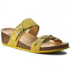 Klapki SCHOLL - Evelyne F26556 1067 350 Yellow
