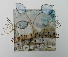 'calm and peace' by Louise O'Hara of DrawntoStitch www.drawntostitch
