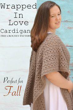 c6191dd1b3cb2 Crochet Cardigan Free Pattern
