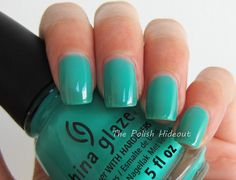 China Glaze Keepin' It Teal - Sunsational Collection