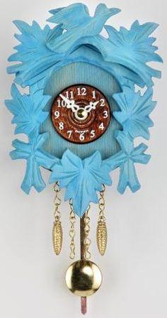 Blue Cuckoo Clock Contemporary Clocks Coo Home Grandfather