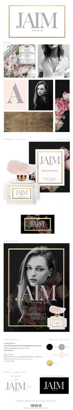 JAIM Paris Concept Fragrance Branding via Studio Meroe