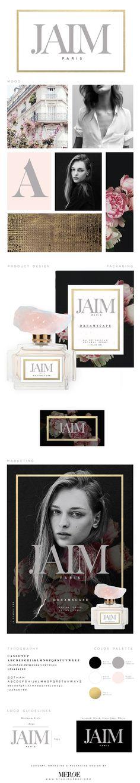 Jaim Paris Fragrance Concept   Branding & Packaging Design by MEROE. www.studiomeroe.com