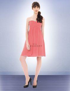 Bridesmaid Dress Style 670 coral