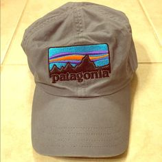 Shop Women s Patagonia Black Blue size Adjustable Hats at a discounted  price at Poshmark. 37a54e9e6b8b