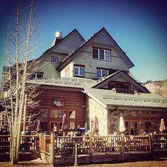 Can you name this spot? It's actually not a traditional venue, but many choose it for their slopeside gathering.
