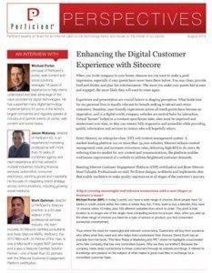 How Sitecore's web content management system enables continuous improvement of a website