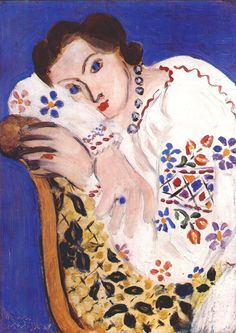 That blue! The master- Henri Matisse, 1936. Love Pip x