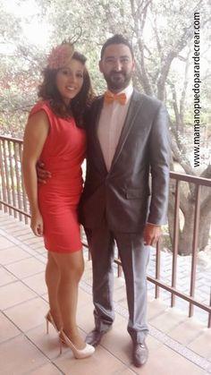 Mama no puedo parar de crear. Guapos!!!! Pero que bonita pareja!!! Como  hablan vuestros ojos !!!! Han viajado a Madrid para asistir a una boda de  película ... 0ddeeca8bb18