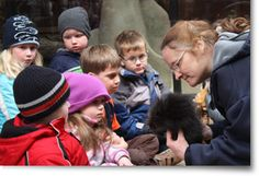 Fargo, ND - Red River Zoo.  Offers a Summer Day Camp and a Winter Enrichment Camp every Saturday in January.