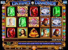 Slot maskinen Da Vinci Diamonds #jackpot #gratis #online #gratisspin #Kasino #Spilleautomatergratis Gratis Online, Free Slots, Slot Machine, Diamonds, Diamond, Arcade Machine