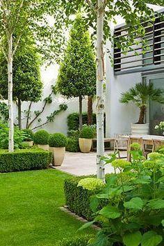 jardin contemporain: