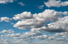 Patternpictures.com Cumulus clouds in blue sky panorama Download Free @ Patternpictures.com