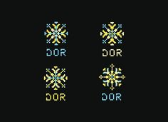 DOR - Hand MadeBranding and Identity design for a hand made artist in Bucharest, Romania. Graphic Design Layouts, Layout Design, Bucharest Romania, Brand Identity Design, Folklore, Cross Stitch, Branding, Graphics, Inspired