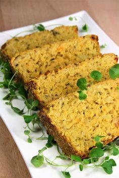 Meatloaf, Cornbread, Banana Bread, Curry, Healthy Recipes, Healthy Food, Menu, Ethnic Recipes, Karma