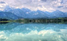 Lac de Bavière. Bavaria. https://www.facebook.com/destinationbaviere