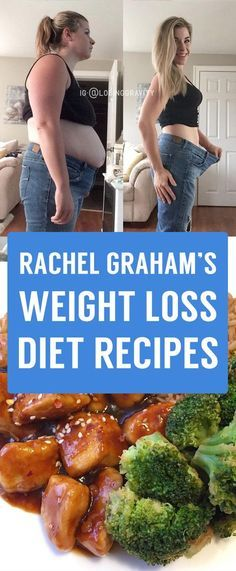 Rachel Graham's Favourite Weight Loss Meal Recipes From Social Media!