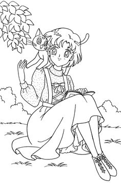 Coloring Pages For Grown Ups, Cute Coloring Pages, Cartoon Coloring Pages, Coloring Pages To Print, Coloring Books, Cristal Sailor Moon, Disney Coloring Sheets, Sailor Moon Coloring Pages, Sailer Moon