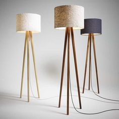 is much more than a decorative lamp! If you love mid-century modern lighting design, you need to see this modern floor lamp. Diy Floor Lamp, Modern Floor Lamps, Cool Floor Lamps, Luminaire Mural, Deco Luminaire, Free Standing Lamps, Standing Lights, Cloud Lamp, Deco Studio