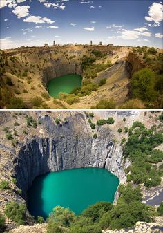 Kimberley Big Hole (South Africa). Kimberley is the home of De Beers Consolidated Diamond Mines, some of the world's richest diamond mines, and it is still considered to be the capital of the world's diamond industry. It was here that the famous Star of Africa was found, a magnificent 83.5 carat diamond.