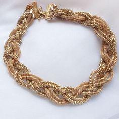 Vintage Beaded Handmade Necklace