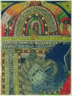 The Art of Visual Thinking: Madness and Art: The Work of Adolf Wolfli
