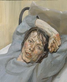 LUCIEN FREUD established his own artistic identity, however, in meticulously executed realist works, imbued with a pervasive mood of alienation.