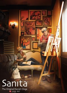 Creative. comfort, and Sanita.  #mysanita #sanitacomfort  www.sanita.com